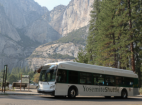 Yosemite National Park Adds Shuttle Buses